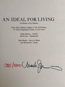 Signed Ideal For living Book