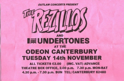 Joy division central an unpublished flyer for the rezillos undertones and joy division concert at canterbury odeon november 1978 has surfaced on ebay publicscrutiny Choice Image