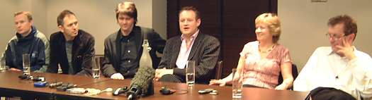 Ian Curtis Film - Press Conference (C) Joy Division Central