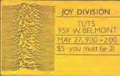 Ticket front